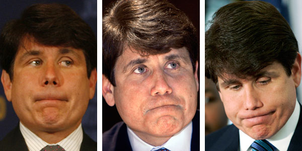 rod blagojevich hair. He has terrible hair advisers.