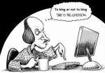 shakespeare cartoon