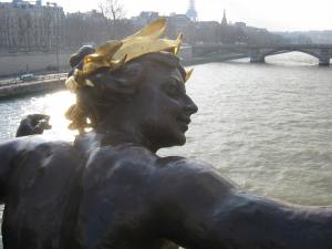 Guardian of the Seine, in disbelief.