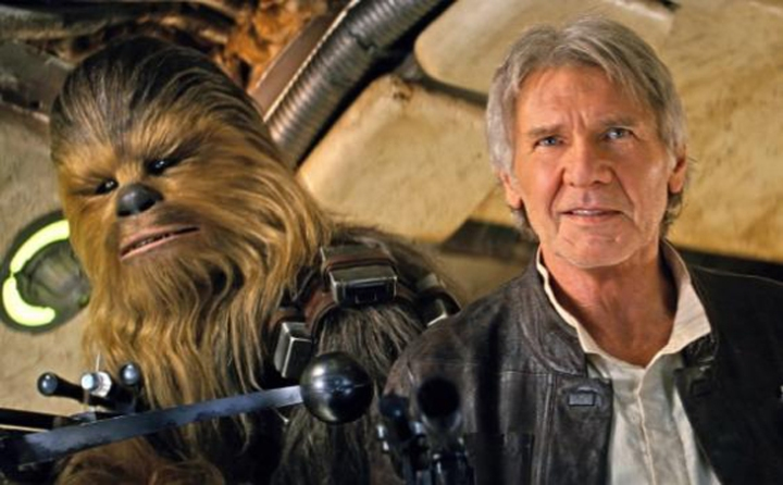 Wookies just don't age.